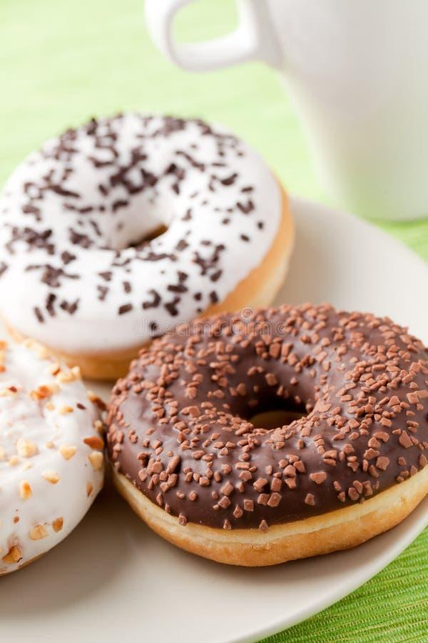 donuts słodcy zdjęcia royalty free