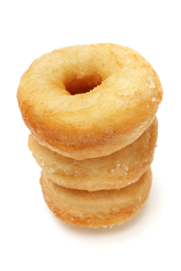 Donuts Stack royalty free stock photography