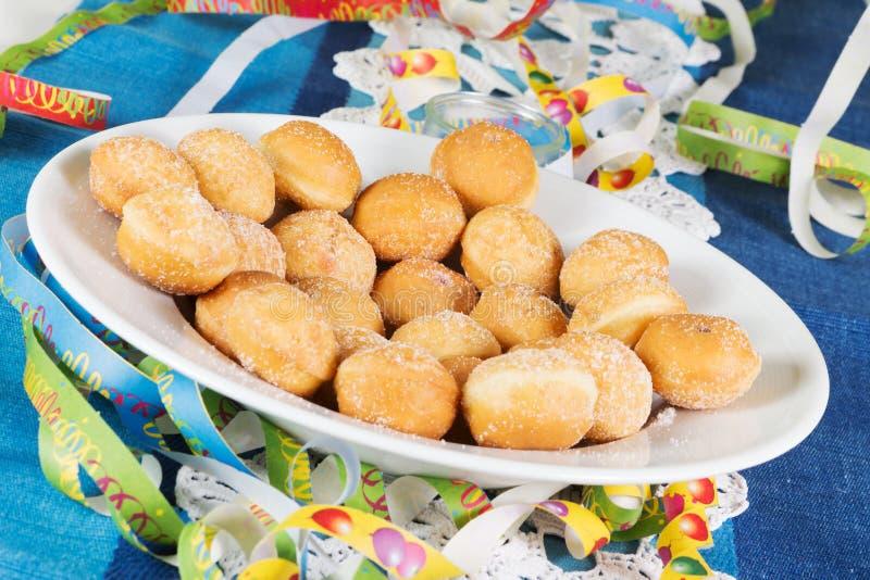 donuts wypełniająca galareta zdjęcie stock