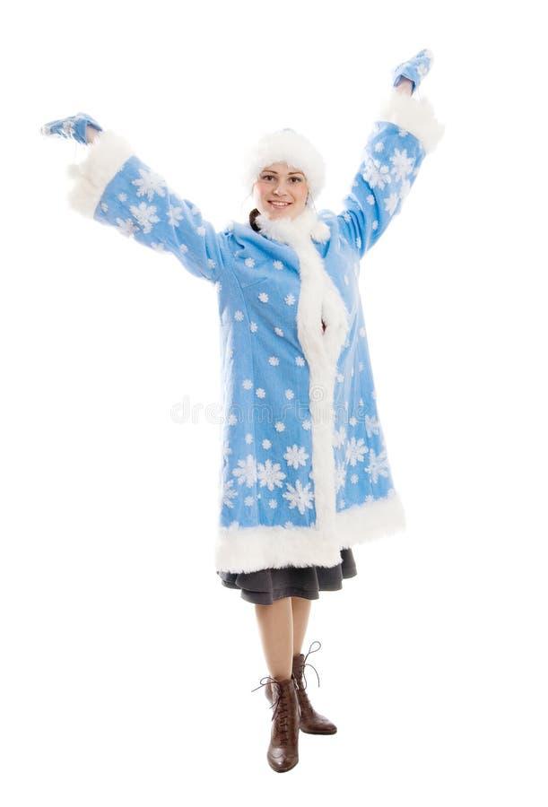 Donzela da neve foto de stock