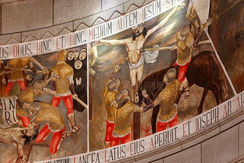 Dood van Christus royalty-vrije stock fotografie