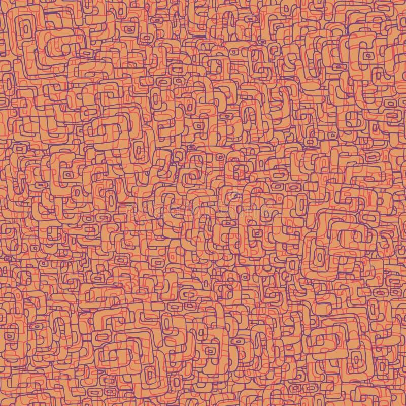 doodle άνευ ραφής διανυσματική απεικόνιση