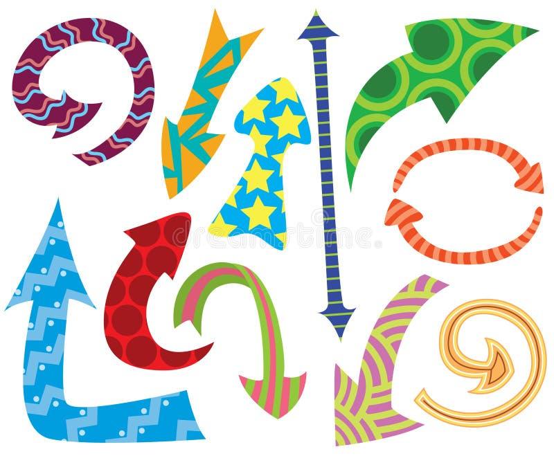 doodle стрелок бесплатная иллюстрация