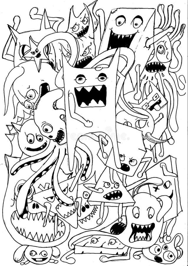 doodle immagini stock libere da diritti