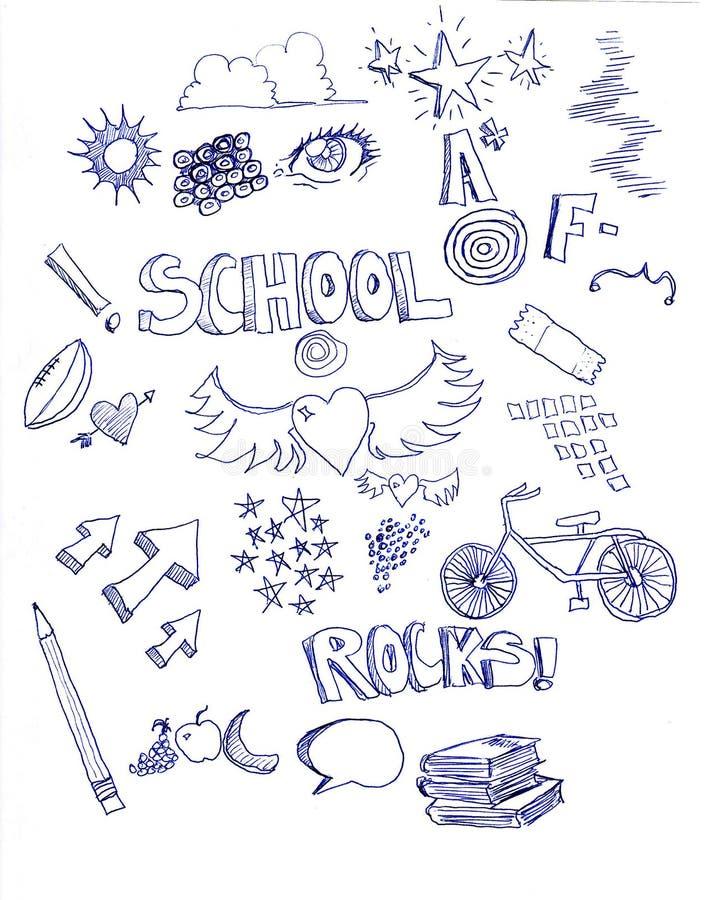 doodle royalty ilustracja