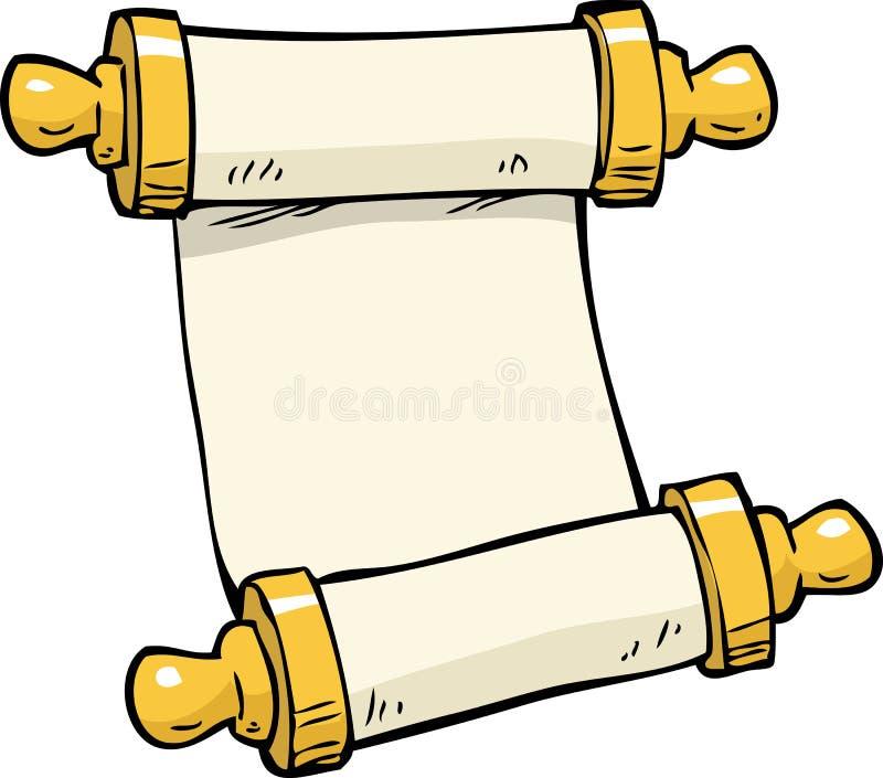 Doodle antyczna ślimacznica ilustracja wektor