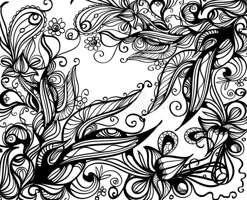 Download Doodle background stock illustration. Illustration of design - 12547929