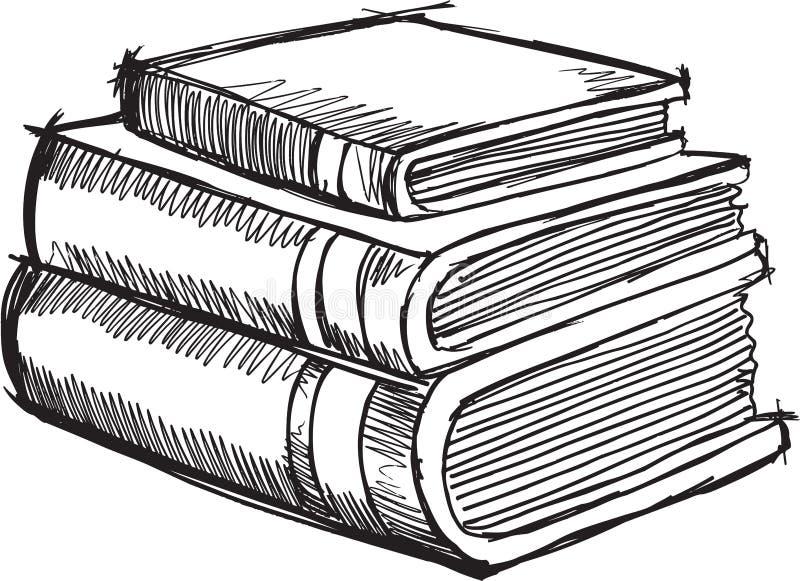 Doodle Books Vector vector illustration