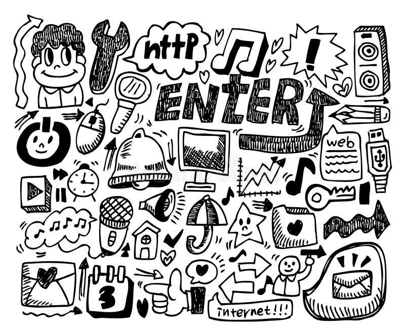 Doodle del Web libre illustration
