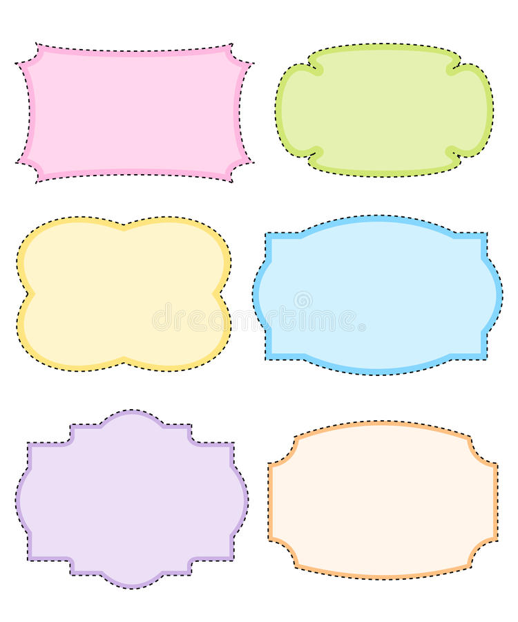 Download Doodle frame stock vector. Image of beauty, classical - 24253053