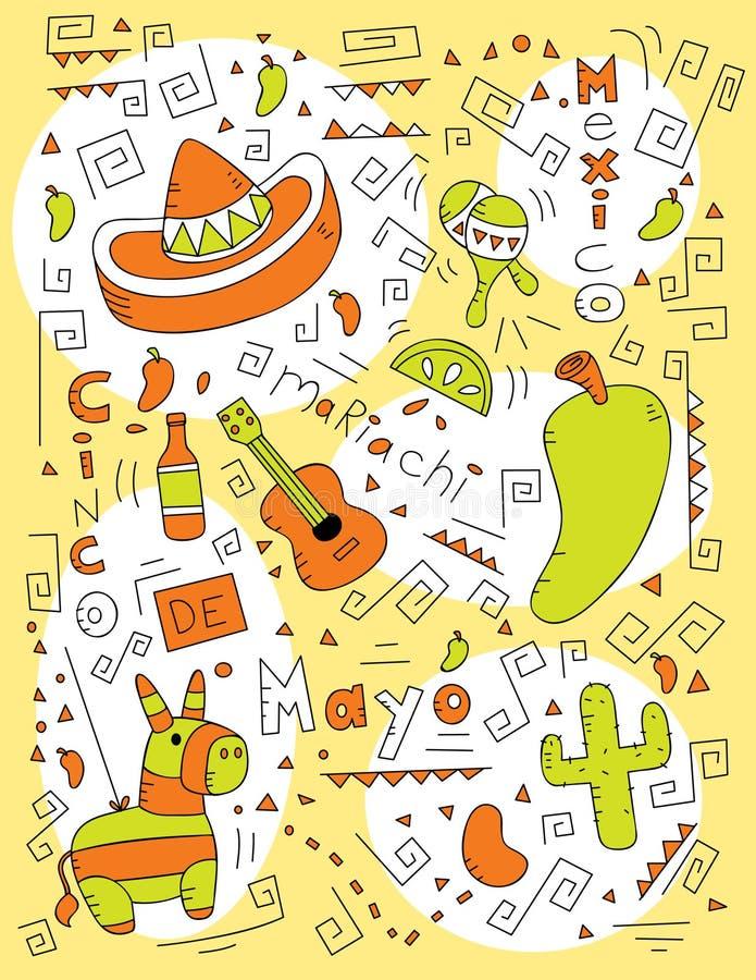 doodle mayo de cinco