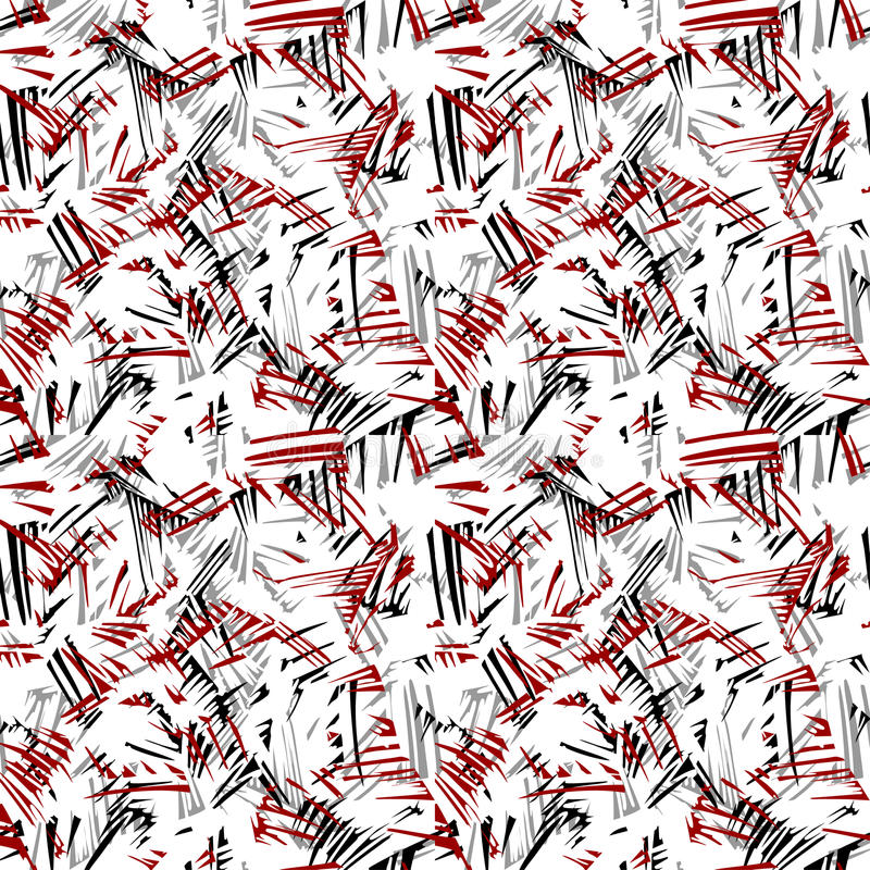 Doodle seamless pencil scribble pattern-model for design of gif vector illustration