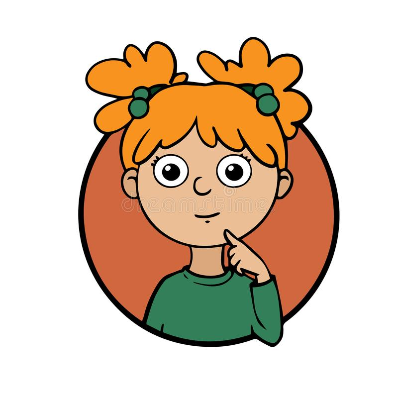 Child Thinking Clipart - 42 cliparts