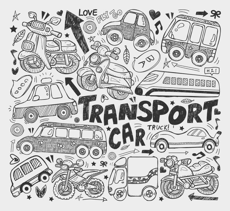 Doodle Transport Element Royalty Free Stock Image