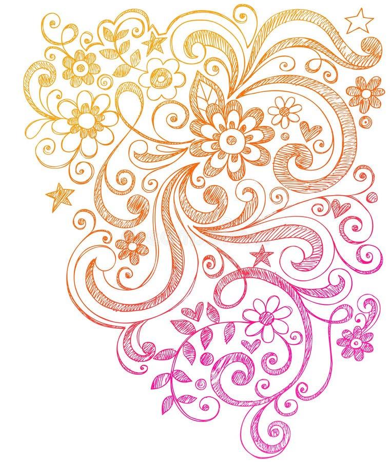 doodles περιγραμματικοί στρόβι&lamb ελεύθερη απεικόνιση δικαιώματος
