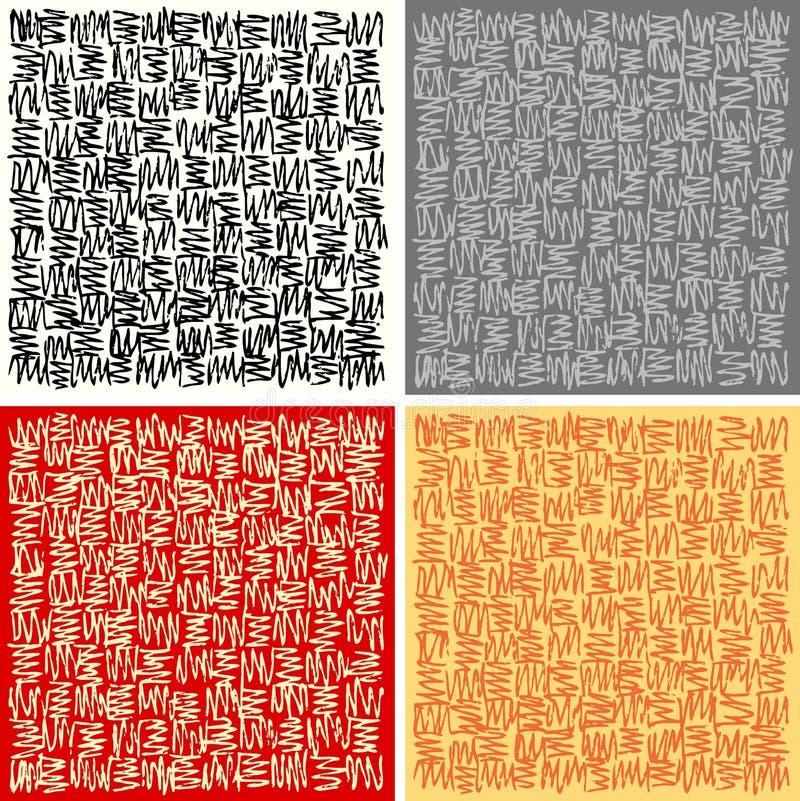 doodles τετράγωνο απεικόνιση αποθεμάτων