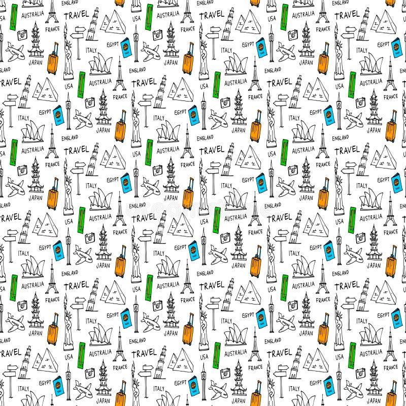 Download Doodles безшовный вектор картины Иллюстрация вектора - иллюстрации насчитывающей геометрическо, декоративно: 81802261