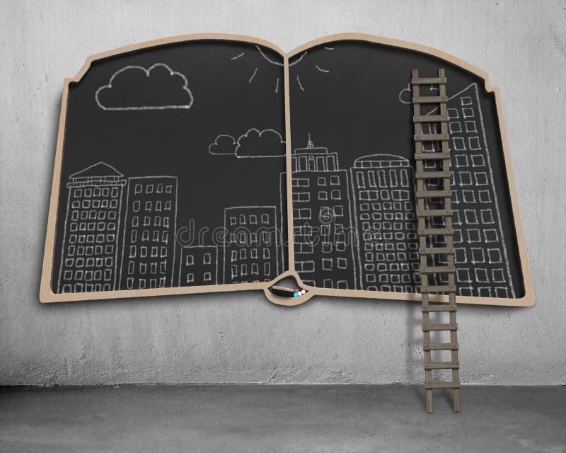 Download Doodles вида на город на классн классном формы книги Стоковое Фото - изображение насчитывающей пусто, noticeboard: 41653394