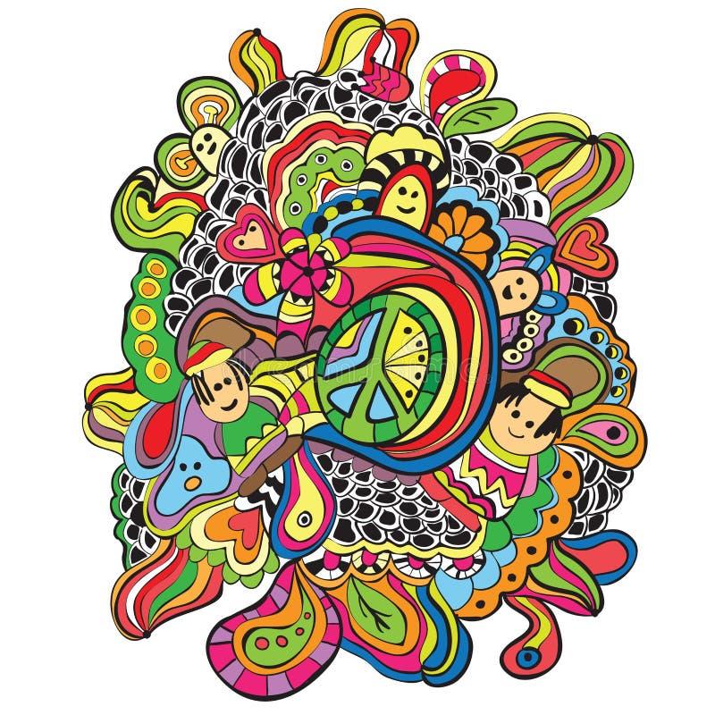 Doodles - иллюстрация вектора иллюстрация штока