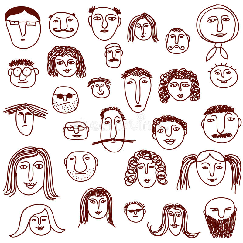 Doodles das faces