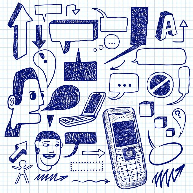 Doodles de uma comunicação