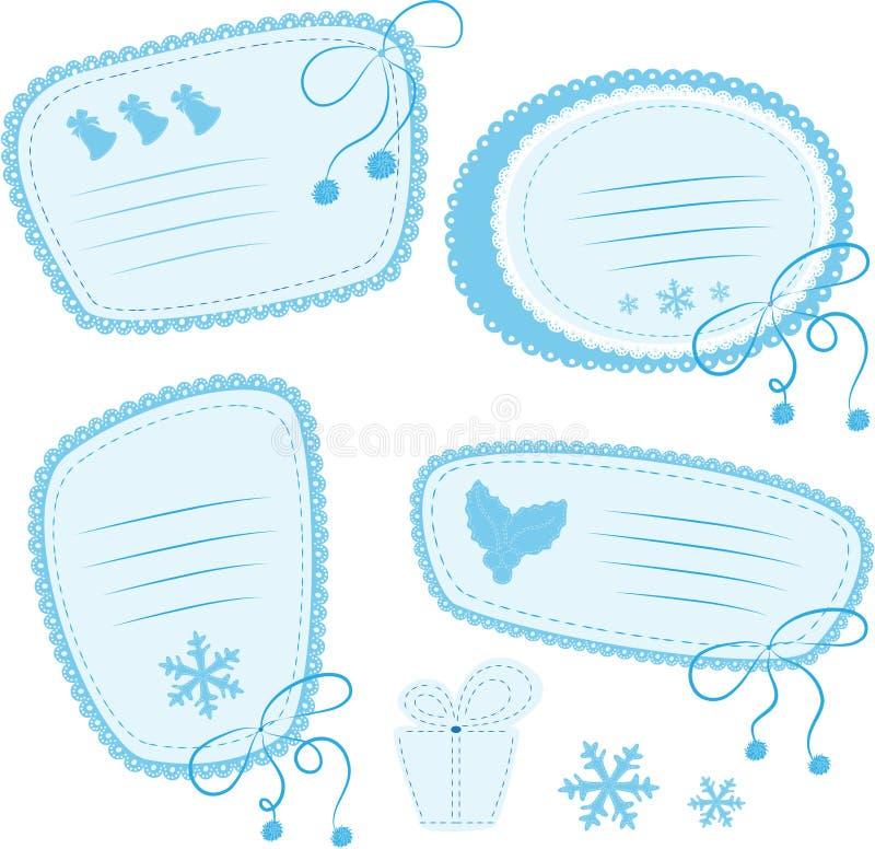 doodles ramy royalty ilustracja