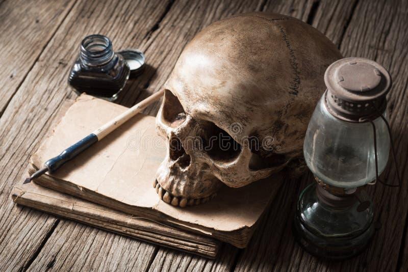 Doodsschrijver stock afbeeldingen
