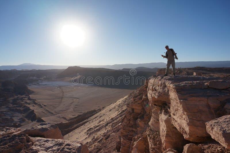 Doodsvallei, Atacama-Woestijn, Chili royalty-vrije stock fotografie