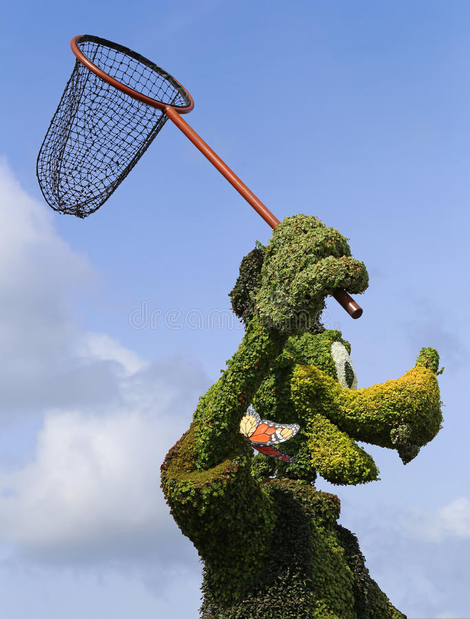 Doof Topiary stockfoto
