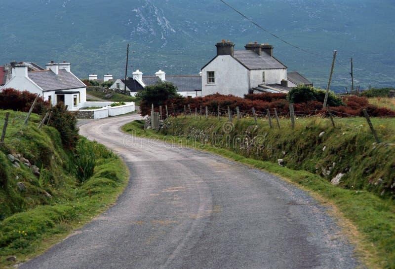 Download Doogort Village In Achill Island - Ireland Stock Image - Image: 22720879