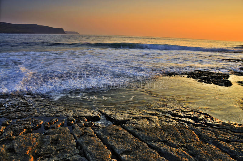 Doolin Beach, County Clare, Ireland Stock Images