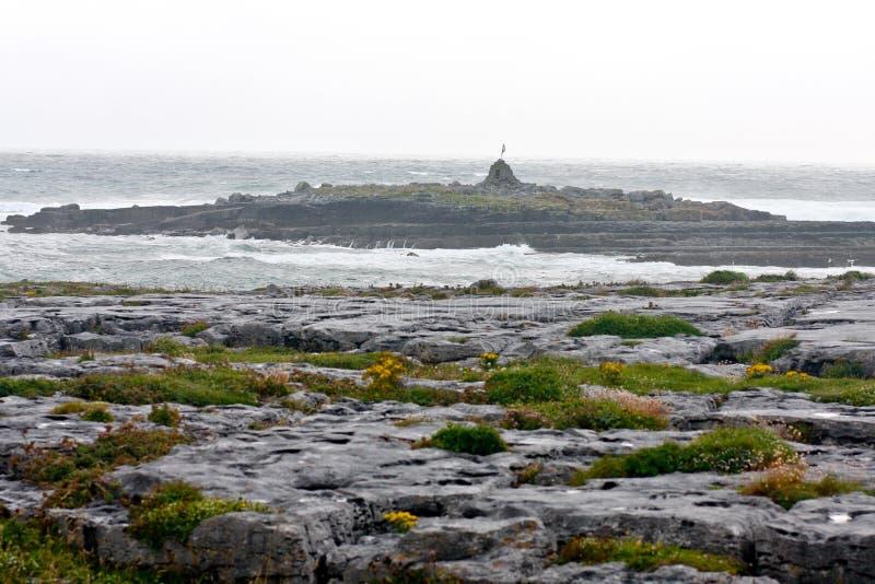Doolin Pier, contea Clare, Irlanda fotografia stock