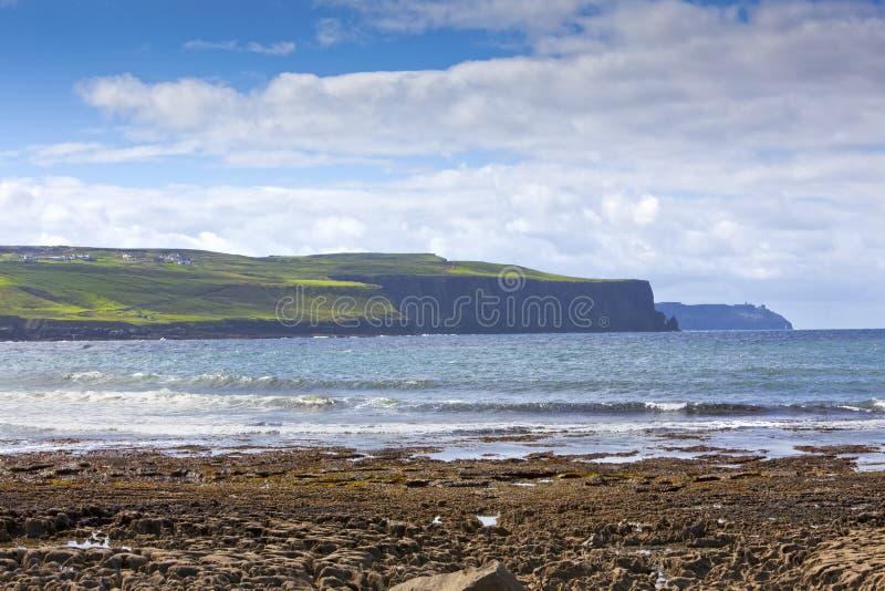 Download Doolin's Bay Beach, Ireland. Stock Photo - Image of land, eroded: 21021234