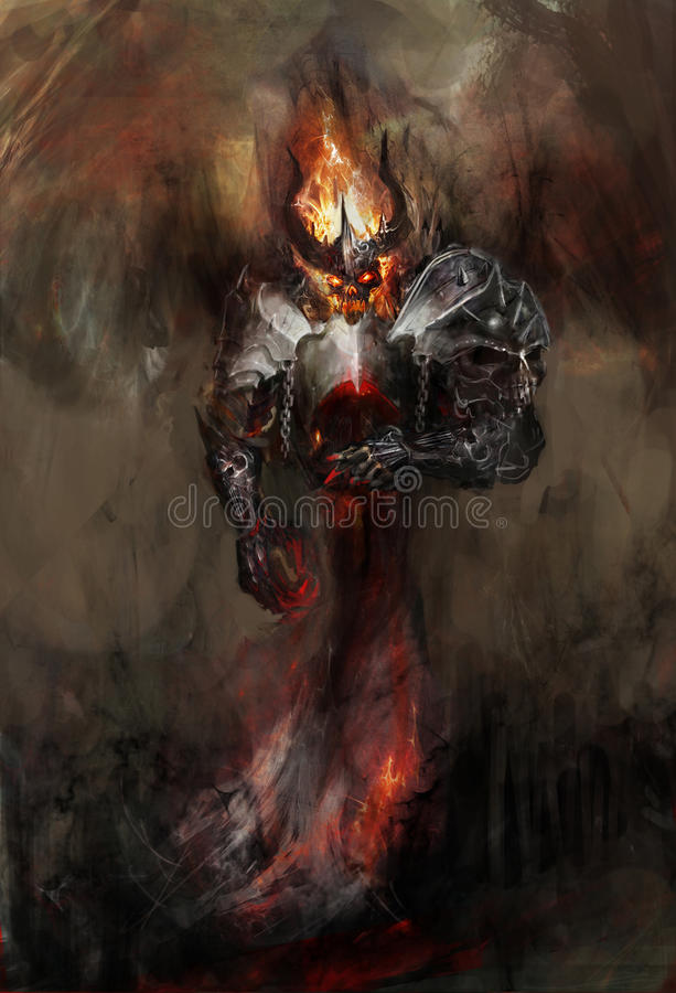 Doom bringer stock illustration