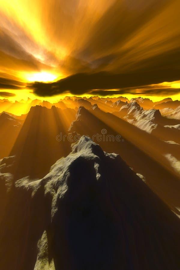 Download Doomsday stock illustration. Illustration of hill, brush - 113252