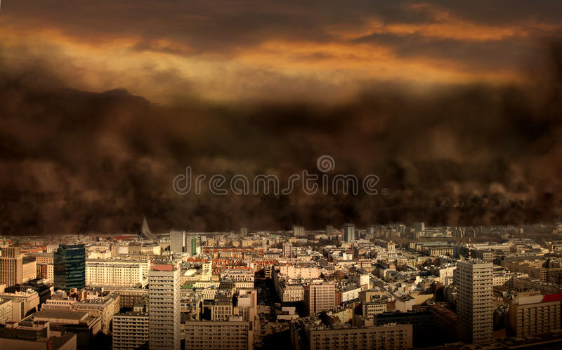 Doomsday stock illustration