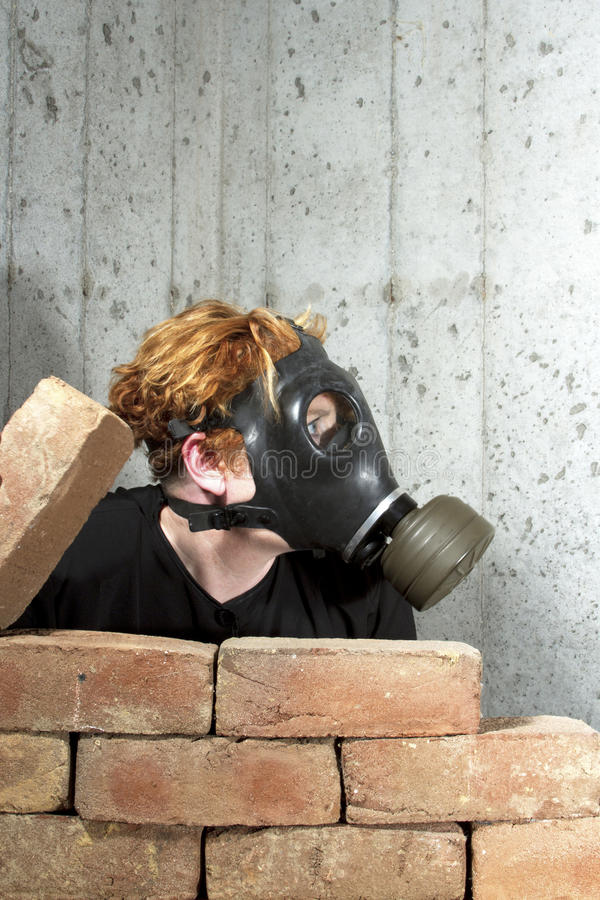 Download Doomsday Preparation stock image. Image of bricked, bunkering - 28521101