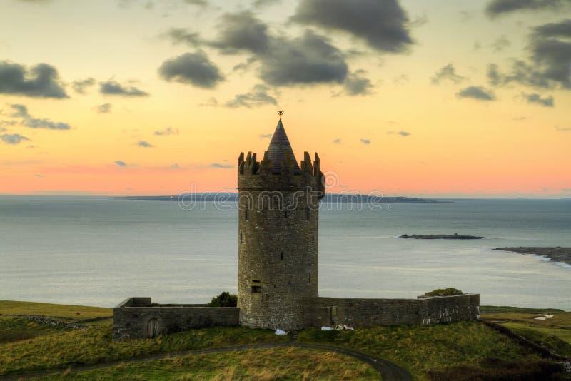 Download Doonagore castle stock photo. Image of irish, architecture - 17302690