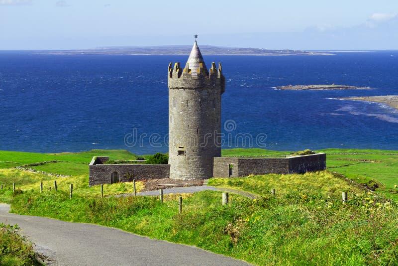 Doonagore Castle In Co. Clare Stock Photos
