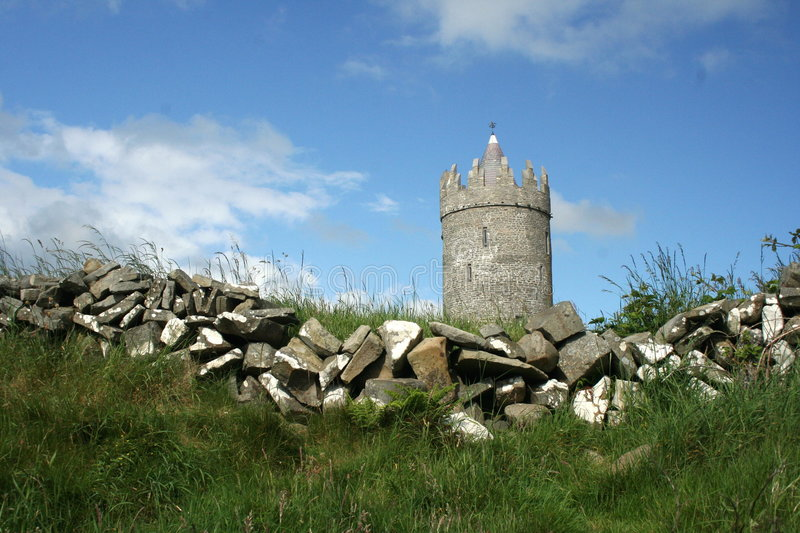 Doonagore Castle, Doolin royalty free stock images