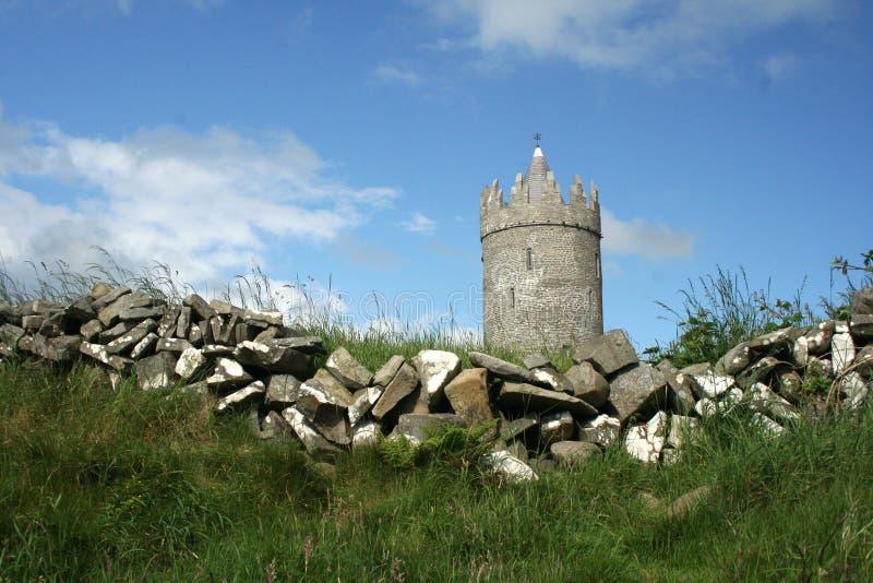 doonagore doolin замока стоковые изображения rf
