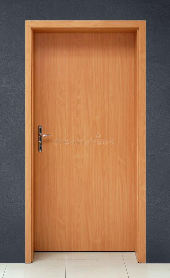 Download Door stock image. Image of simplicity, wooden, doorway - 12719577