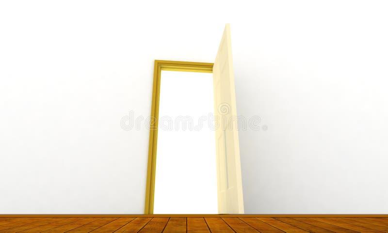 Download Door stock illustration. Image of classic, background - 13334774