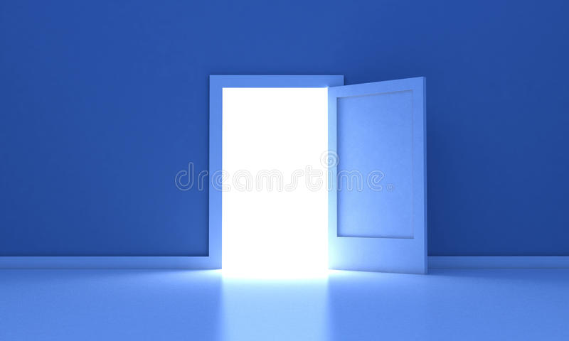 Download The door stock illustration. Image of inside, dreams - 21307102