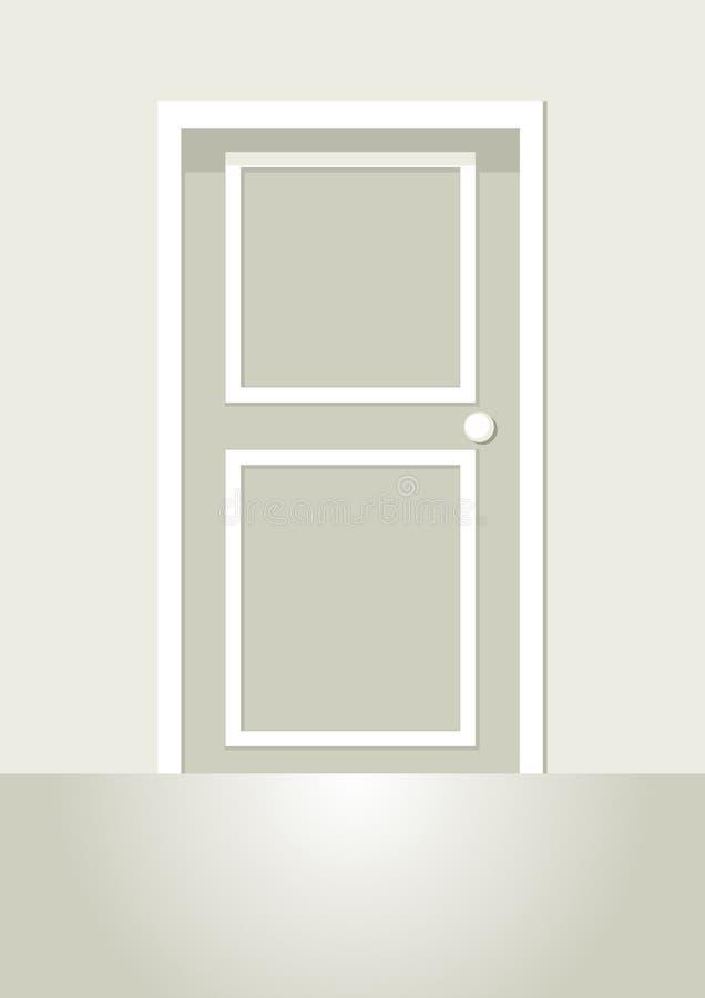 Door royalty free illustration