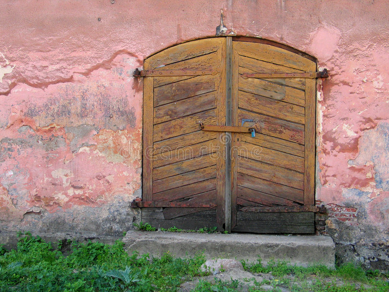 Download Door stock photo. Image of wood, closed, colour, wooden - 22042