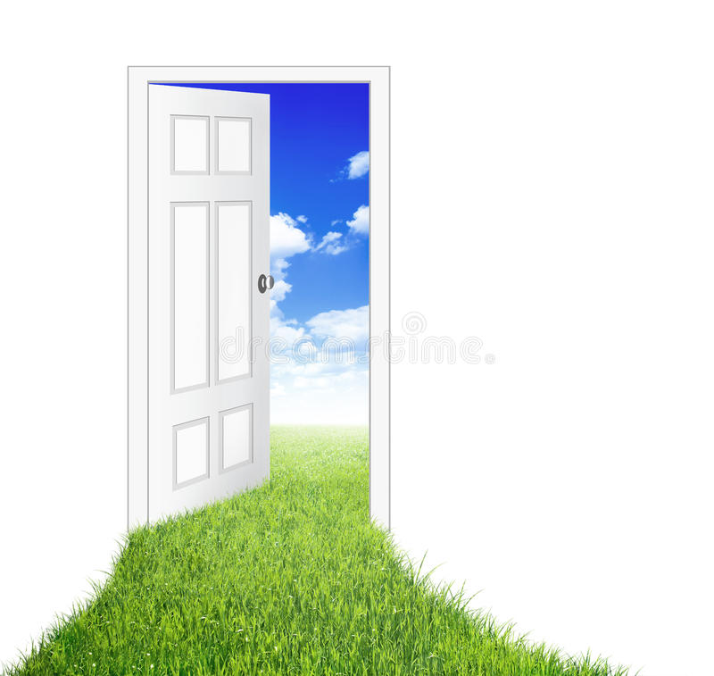 Download Door stock illustration. Illustration of house, entrance - 23005428