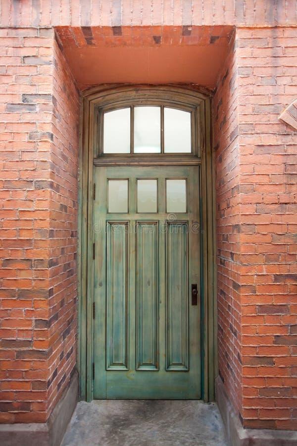 Download Door stock photo. Image of blue, street, arch, brick - 25348190