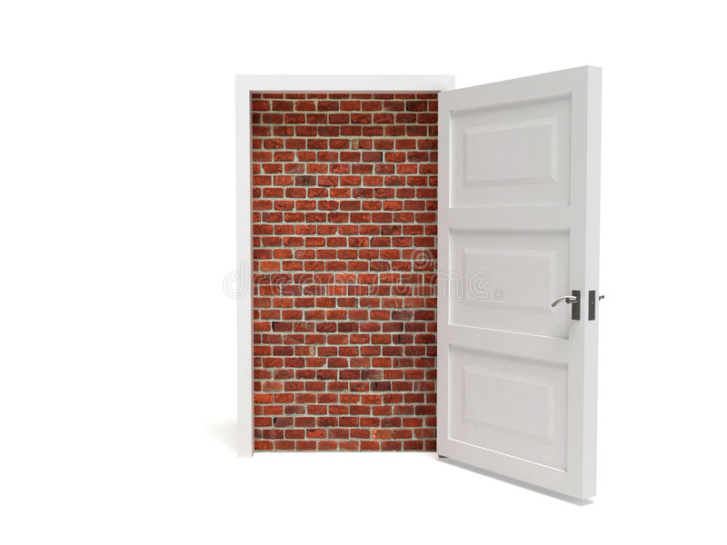 Download Door. stock illustration. Image of enter, heavenly, keyhole - 8345775