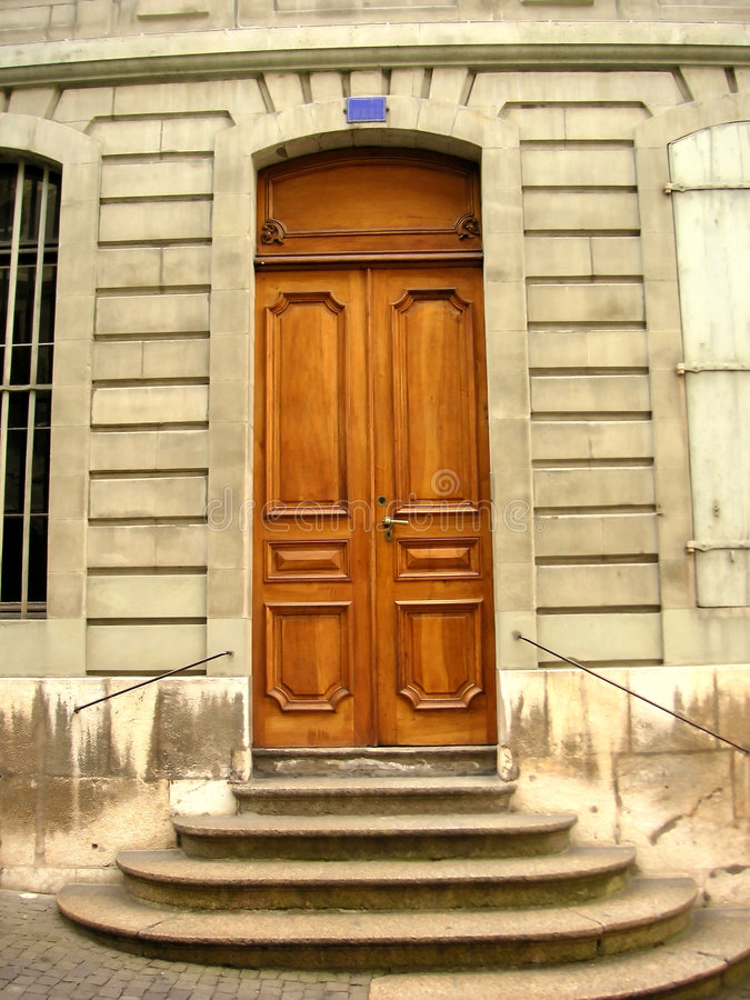 Download Door stock image. Image of doorway, portal, geneva, wood - 88039